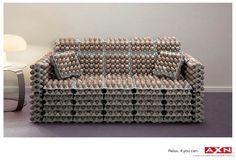 AXN | Sony Ad | Egg Sofa