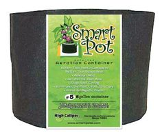 Smart Pot Black 5 Gallon (50/Cs)