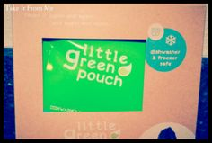 Take It From Me: Little Green Pouch {Review & Giveaway}