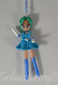 Sailor Mercury (Sailor Moon) Necklace