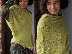 асиметричный пуловер 1