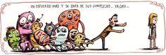 Complejos, por Liniers