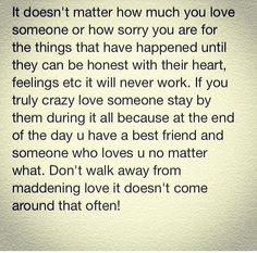 My thoughts on love