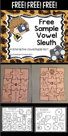 Make working with words fun! A firm understanding of vowel sounds is so important for readers!