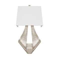 This light is a stunner. Our new Clarissa ribbon sconce in silver leaf. worlds-away.com/clarissa-s.html