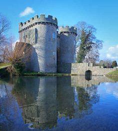 Whittington Castle, Shropshire, UK
