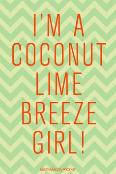 Because every day should have a touch of the tropics ... with a TWIST! #CoconutLimeBreeze