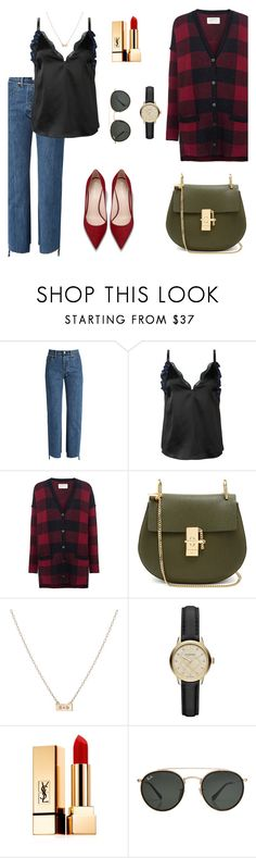 """""""Last warm days"""" by sleepintheclouds ❤ liked on Polyvore featuring Vetements, 3.1 Phillip Lim, Current/Elliott, Chloé, Burberry, Yves Saint Laurent and Ray-Ban"""