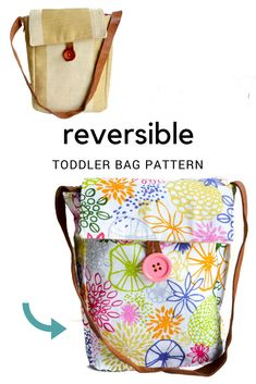 Free toddler bag pattern – toddler purse