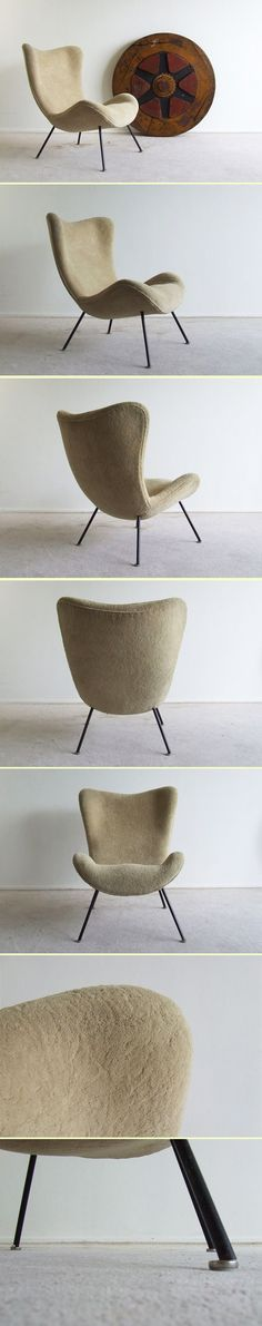 Organic lounge chair by Fritz Neth