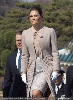 Crown Princess Victoria and Prince Daniel visits South Korea - Day 2