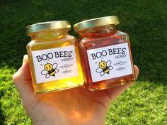 Labels for my honey jars. Printing on white gloss inkjet labels sheets. Honey Jar Labels, Honey Jars, Honey Label, White Labels, Online Labels, Local Honey, Label Templates, Jar Crafts, Bottle Labels