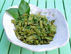 fasolakia me kymino kai ginger Tahini, Asparagus, Green Beans, Kai, Cabbage, Vegetables, Fruit, Foods, Food Food