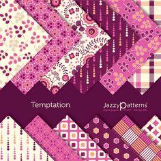Temptation digital scrapbooking paper pack (DP057)
