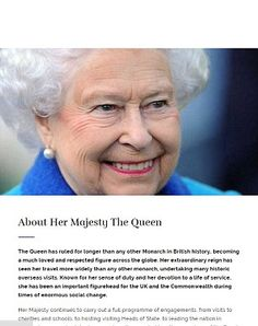Her Majesty The Queen who 'has ruled for longer than any other Monarch in British history'