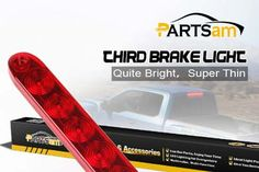 Universal Third Brake Light 2017 Partsam