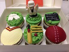 Cricket cupcakes