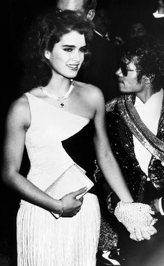 Studio 54, Brook Shields & Micheal Jackson