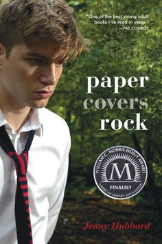 Paper Covers Rock by Jenny Hubbard. I randomly selected this off the library's YA shelves, not realizing until later it was by a local author. A beautifully written YA story. I was happy to recommend it to our ROYAL book club.