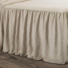 Lush Decor sells a variety of stylish bedding sets for all ages, such as the Ruffle Skirt Bedspread Set online. Ruffle Bedspread, Ruffle Skirt, Lush, Guest Bedrooms, Master Bedroom, Romantic Bedrooms, Beautiful Bedrooms, Modern Bedroom, Neutral
