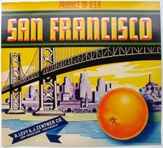 Didn't know they grew oranges in San Fran;)