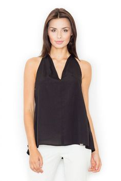 Bluza dama negru - 99 Lei -  Fabricat in Europa -     Comanda acum!  #divashopromania #divashop #hainefemei #bluze  #fashion #fashionista #fashionable #fashionaddict #styleoftheday #styleblogger #stylish #style #instafashion #lifestyle #loveit #summer #americanstyle #ootd #ootdmagazine #outfit #trendy #trends #womensfashion #streetstyle #streetwear #streetfashion #shopping #outfitoftheday #outfitinspiration #ootdshare #trendalert #boutique #haine #romania #bucharest Blouse Models, Black Blouse, Fashion Addict, Blouses For Women, Outfit Of The Day, Street Wear, Street Style, Tank Tops, Stylish