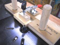 Small Parts Routing Jig / Gabarit pour toupillage de petites pièces