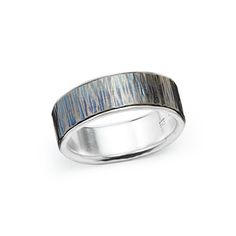 Look what I found at UncommonGoods: woodgrain titanium wedding band - wide... for $265 #uncommongoods
