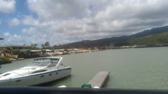 Brews with a view: The marina next to the Kona Brewing Company in Oahu.