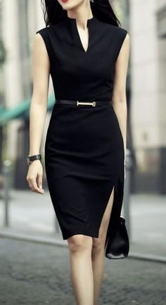6 Best Sexy Work Outfit Ideas For Modern Women Office Dresses For Women, Trendy Dresses, Dresses For Work, Clothes For Women, Dress Work, Elegant Dresses For Women, Dresses Dresses, Work Clothes, Bodycon Outfits