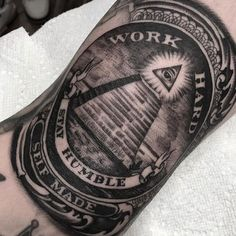 Money Tattoo Designs