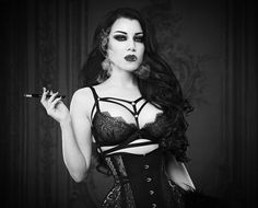 Billedresultat for gothic models tumblr