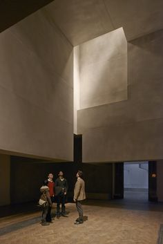 Grafton Architects installation at the Royal Academy's Sensing Spaces exhibition