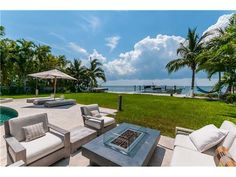 Waterfront home on Harbor Drive. Key Biscayne, Florida 33149 • EWM.com