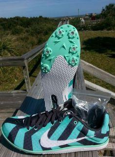 Nike-Zoom-Rival-7-D-NEW-Women-Sz-9-5-Long-Distance-Track-Shoe-w-Spikes-Win-Fly