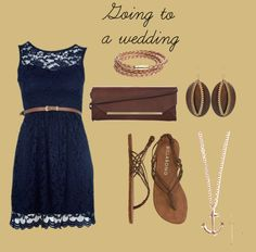 """""""Going to a wedding"""" by alyssakrause on Polyvore"""