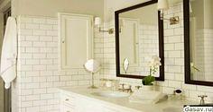 белая плитка в ванной комнате фото, ванная комната с белой плиткой