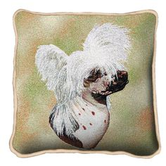 Chinese Crested Dog Pillow