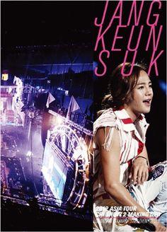 JANG KEUNSUK 2012 ASIA TOUR MAKING DVD SHNGHAI,TAIWAN,SHENZHEN,SEOUL <上海 台湾 深セン ソウル> 発売日2013/06/14