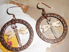 BOGO Dragonfly Earrings by bbcreations on Etsy, $10.00