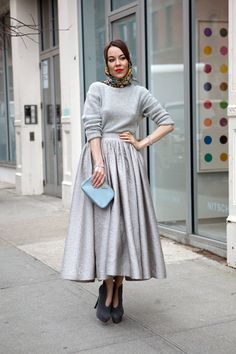 Amazing retro look  All grey on http://thelocals.dk