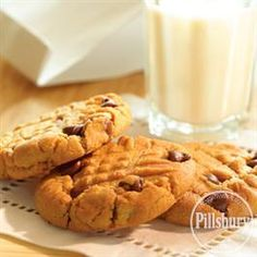 Chocolate Chip Peanut Butter Cookies from Pillsbury® Baking