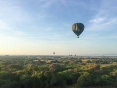 Hot Air Balloon Ride in Bagan, Myanmar