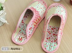 House Shoes Slippers Cotton Indoor Home living room Kitchen Shoe for Women PINK