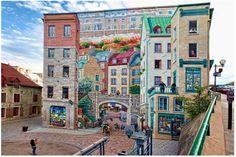 Trompe l'oeil, Quebec City