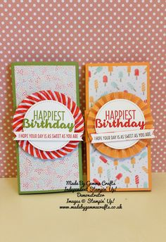 Stampin'Up! Poppin Box Card Wrap