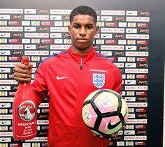 Marcus Rashford named England U21s Man of the Match after hat-trick on debut