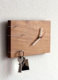 Nova Schlüsselbrett und Uhr - Toshi