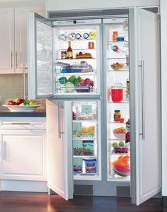 Liebherr Freestanding Side-By-Side Refrigerator & Freezer: Remodelista