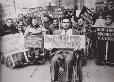"""ICS sponsors """"Gaining Access: The New York City Disability Rights Movement"""", an exhibit open July- October 2015, is free to people with disabilities every Friday, and by donation to all every day. #ADA #NYC #Accessibility"""
